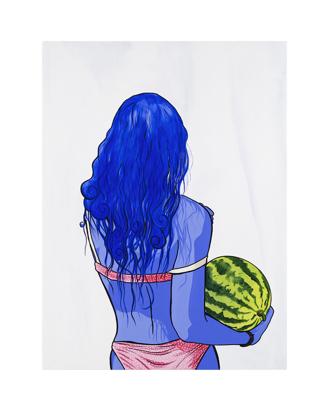 Marc Jesús: Watermelon: Unframed