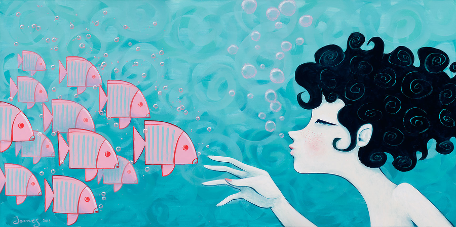James (Lluis Pons): Pink fish clan