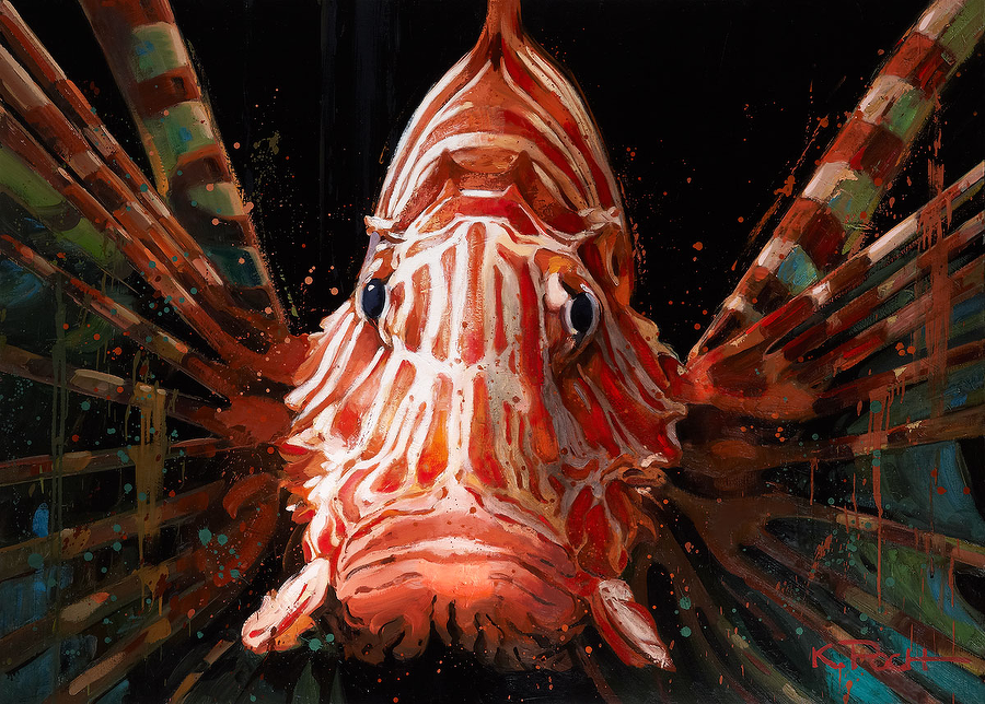 Kiku Poch: Lion Fish